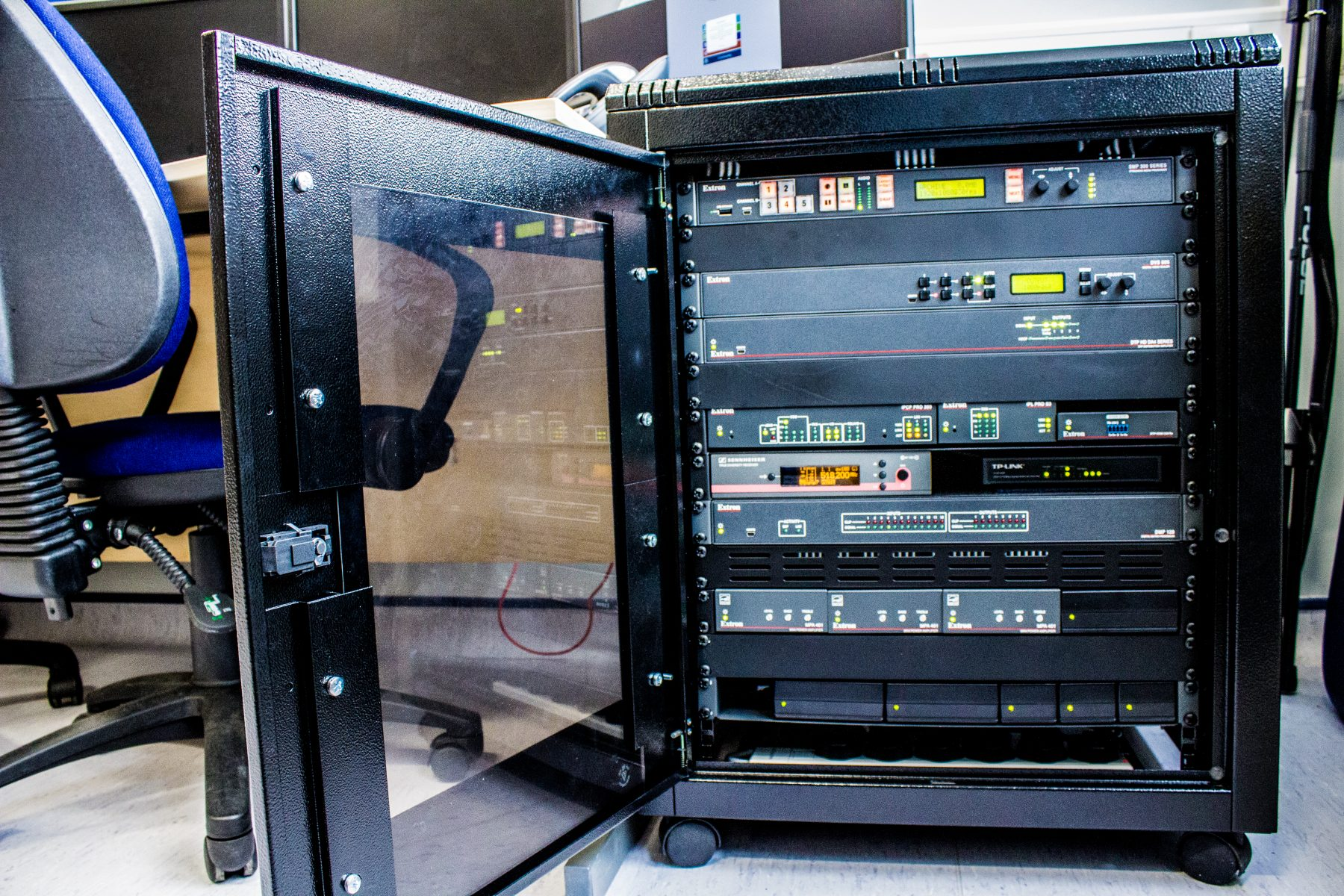 HYMS Simulation Suite Rack
